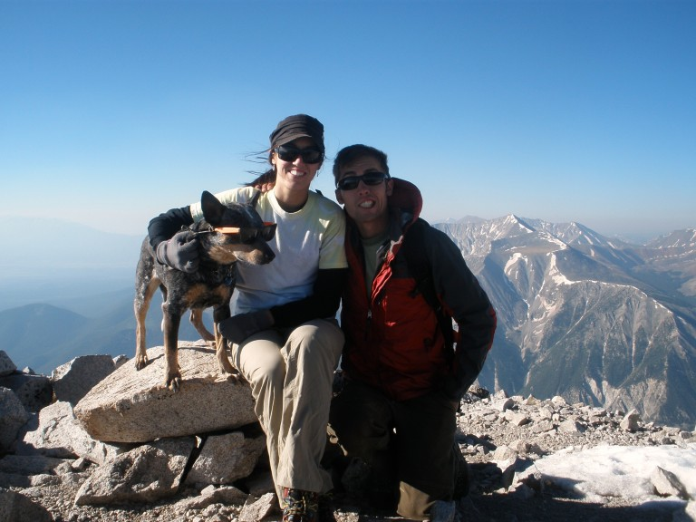 Summit of Mt. Princeton 14,197'