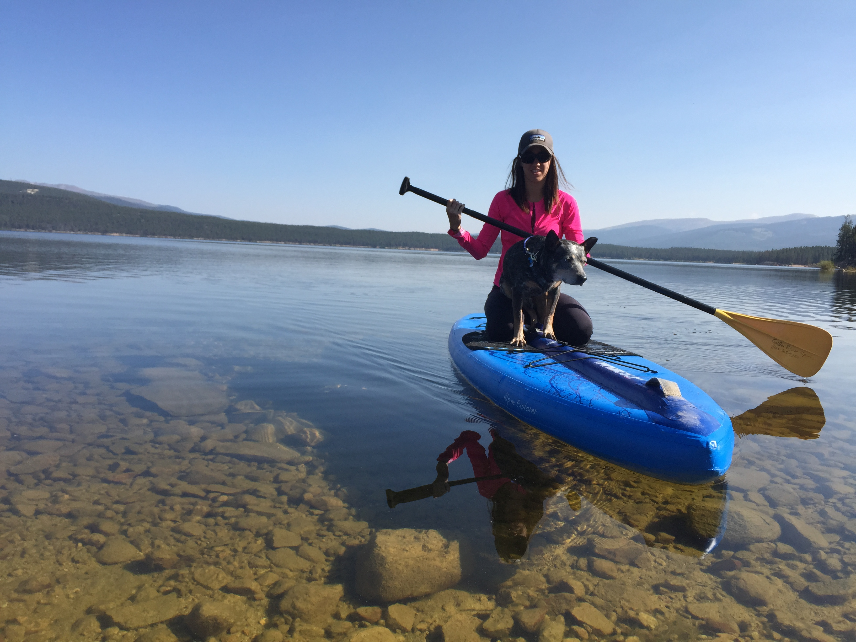 Weekend getaway paddle boarding leadville colorado for 13 fishing a3